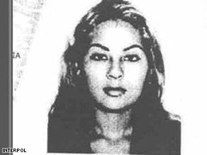 Interpol issued an international arrest warrant for former model Angie Sanclemente