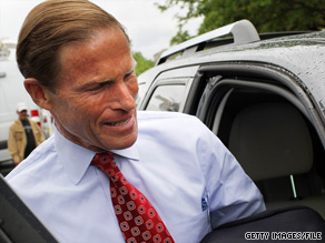 A new poll released Thursday has Richard Blumenthal holding a 56 to 31 point lead over his challenger for Senate.
