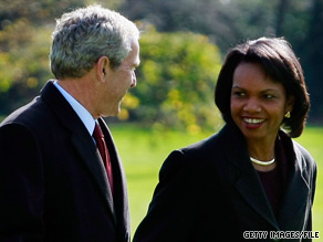 Former U.S. Secretary of State Condoleezza Rice said Thursday that she will write a memoir about her eight years in the White House.