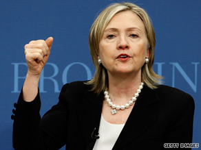 Clinton waded into tax policy Thursday.