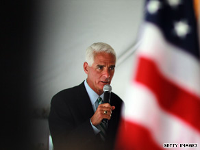 Crist: Rubio 'wrong' on drilling off Florida coast.