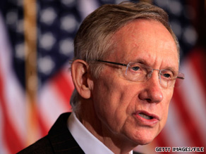 It didn't take Senate Majority Leader Harry Reid long to zero in on his Republican challenger's stance on Social Security.