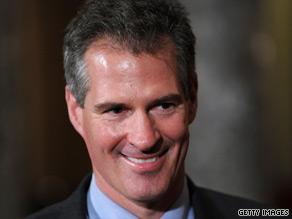 A new poll reveals that Sen. Scott Brown is more popular than President Obama in Massachusetts.