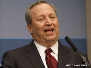 National Economic Council Chairman Larry Summers announced that commercial broadband spectrum will double.