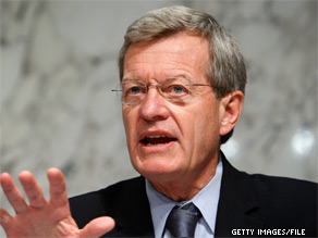 'I'm troubled that, rather than going through the standard nomination process, Dr. Berwick was recess appointed,' Senate Finance Committee Chairman Max Baucus said in a statement.
