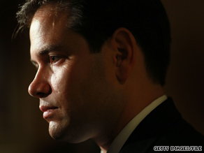 Rubio's cash boost puts the Republican in prime position to blanket the expensive Florida airwaves in what's expected to be a tight three-way battle come November.