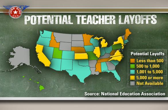 Image result for Teacher layoffs