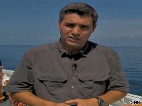 CNN's Jim Acosta reports from the Deepwater Horizon site in the Gulf of Mexico.