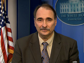 President Obama's Senior Advisor David Axelrod spoke about campaign politics in The Situation Room on Monday.
