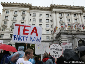 According to the new CNN/Opinion Research Corporation Poll, Sarah Palin is not the front runner for the White House among Tea Party supporters.