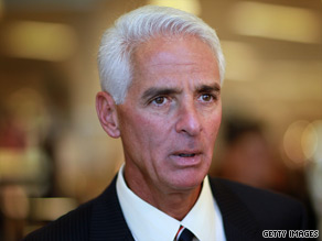 Crist is ahead in Florida.