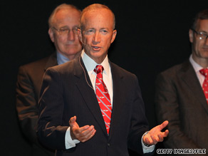 Indiana Gov. Mitch Daniels on Wednesday suggested that Sarah Palin's political reach is limited.