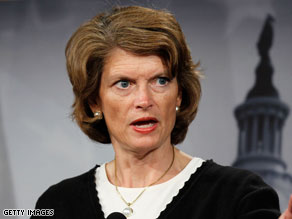 If Republican incumbent Sen. Lisa Murkowski is defeated in the GOP primary, her only option is to run as a write-in candidate.