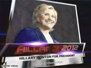 A new ad advocating for Hillary Clinton for president in 2012 began running in New Orleans Wednesday.