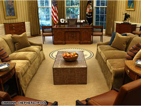 The makeover of the Oval Office has been widely panned in press reports and on the blogosphere for being too casual.