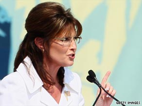 Sarah Palin discussed a potential 'big national announcement' at an event in Alaska on Saturday.