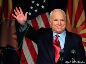 Arizona Sen. John McCain said on Sunday that he'd like President Obama to visit the U.S.-Mexico border in Arizona.