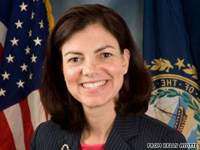 Kelly Ayotte has been declared the winner of New Hampshire's GOP Senate primary.