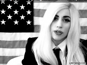 Pop singer Lady Gaga took to the web Friday, telling Congress 'to do your job'.