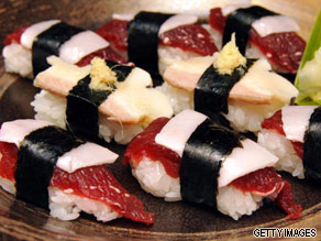 Does the Japanese dish of sushi interest you?