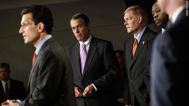 House Republicans hope for the best in 2011!
