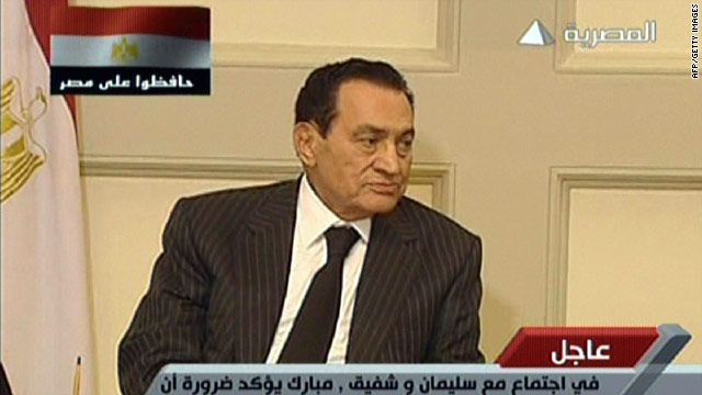 Egypt latest - Mubarak to new PM: Engage with all political parties