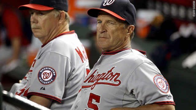 Washington Nationals' Riggleman out as manager
