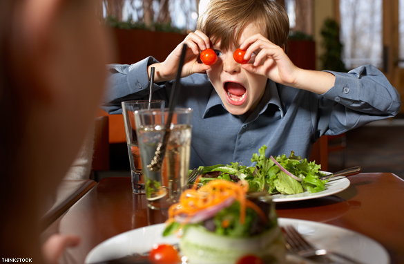 Image result for restaurants with screaming kids