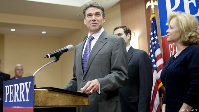 BREAKING: Perry drops out, endorses Gingrich