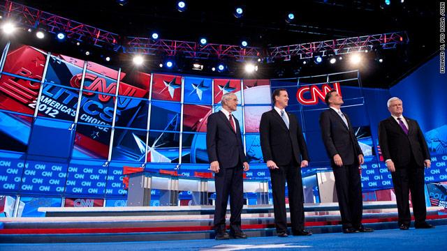 Live blog: CNN Arizona Republican Presidential Debate