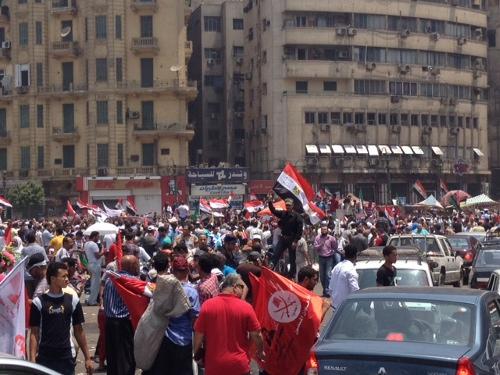 Tahrir celebrate