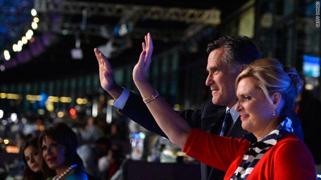 PHOTO: Romneys at London Olympic Opening Ceremonies