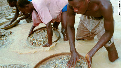 What are 'conflict diamonds?'