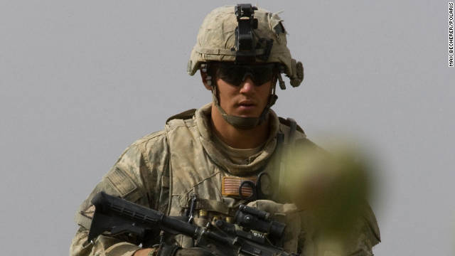 Staff Sgt. Calvin Gibbs, seen here in Kandahar province, Afghanistan, in 2010, now faces murder charges.