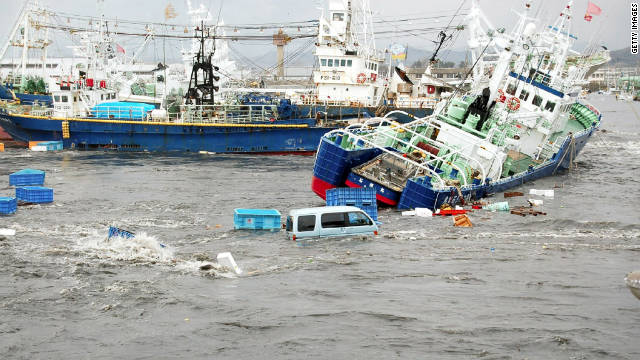 The earthquake and tsunami together killed 15,840 people, according to the most recent death toll.