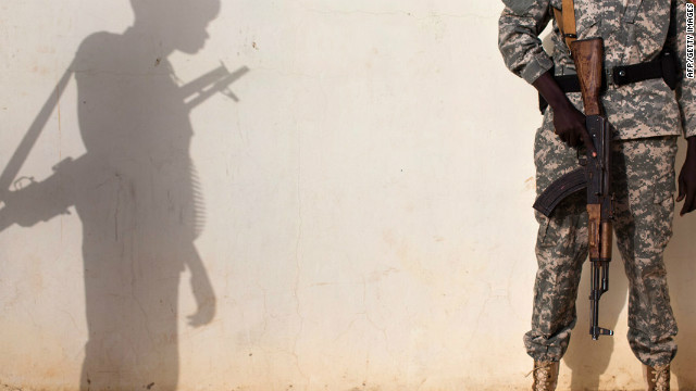 The Sudanese military said rebels in the border region with neighboring South Sudan are responsible for the kidnapping.