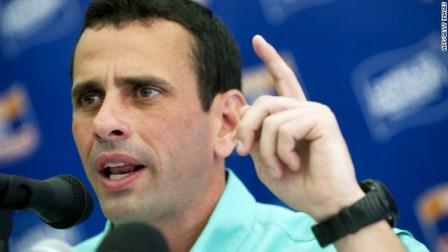 """Capriles: """"Al primero que voy a llamar al conocer los resultados va a ser al presidente"""""""