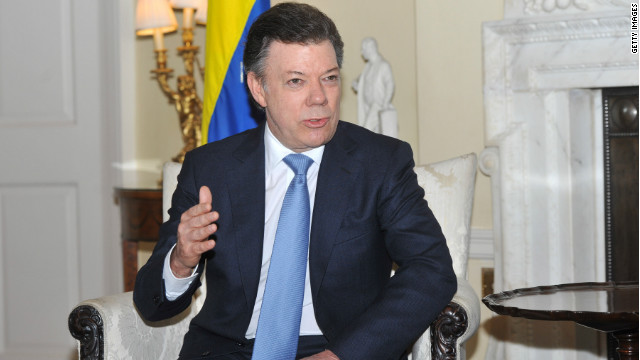 (Foto archivo) El presidente colombiano, Juan Manuel Santos, escribió un mensaje de condolencia por el accidente en Twitter.