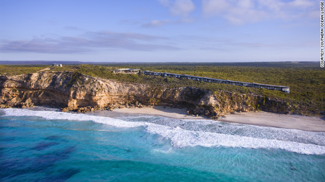 <br/>Southern Ocean Lodge in Kangaroo Island, Australia