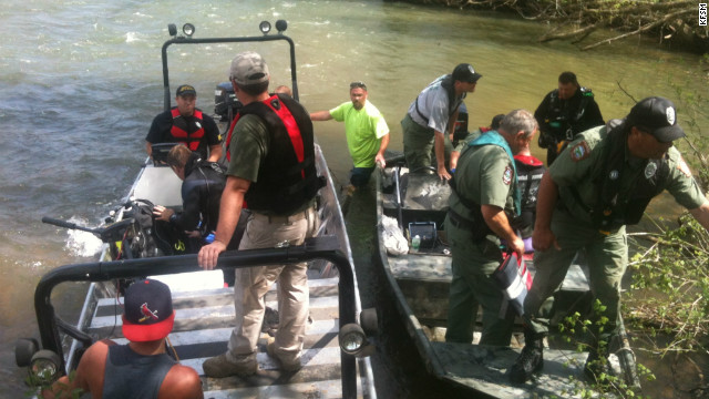 Searchers found Caleb Linn's remains in the South Fork River in northern Arkansas.