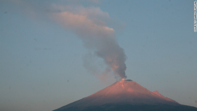 The Popocatepetl volcano is one of Mexico's highest peaks and last had a major eruption in 2000.