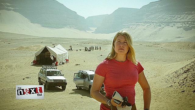 """La """"Indiana Jones"""" de la vida real descubre ruinas egipcias desde el espacio"""