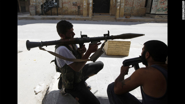 Photos: Showdown in Syria