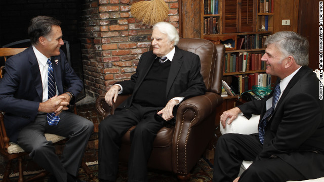 Billy Graham site removes Mormon 'cult' reference after Romney meeting