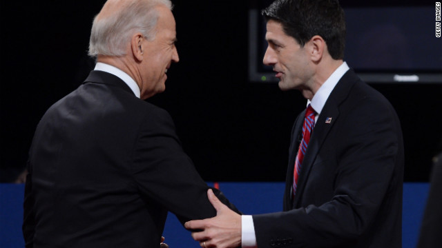 CNN Poll on debate winner: Ryan 48%, Biden 44%