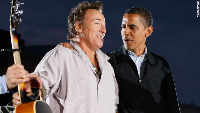 Springsteen to rock the campaign trail