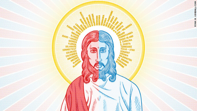 Do you believe in a red state Jesus or a blue state Jesus?
