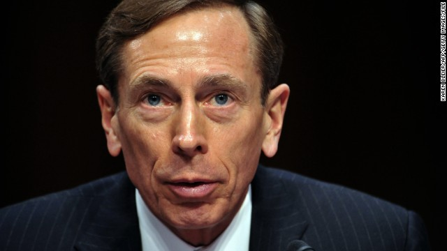 David Petraeus was sworn in as CIA director in September 2011.