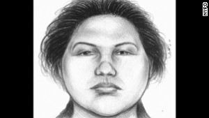 Police investigating the case released this sketch of the person they were seeking.
