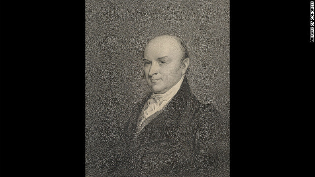 John Quincy Adams was sworn into office on March 4, 1825.